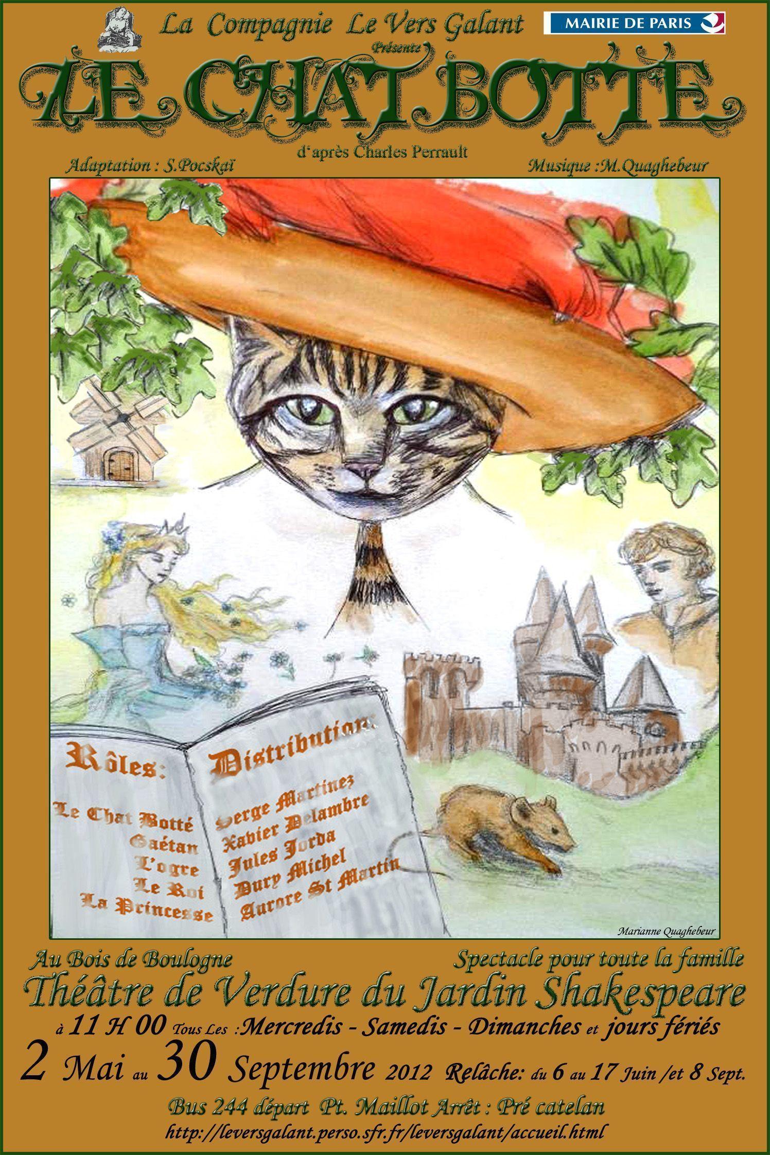 Le projet chat botte - Dessin du chat botte ...